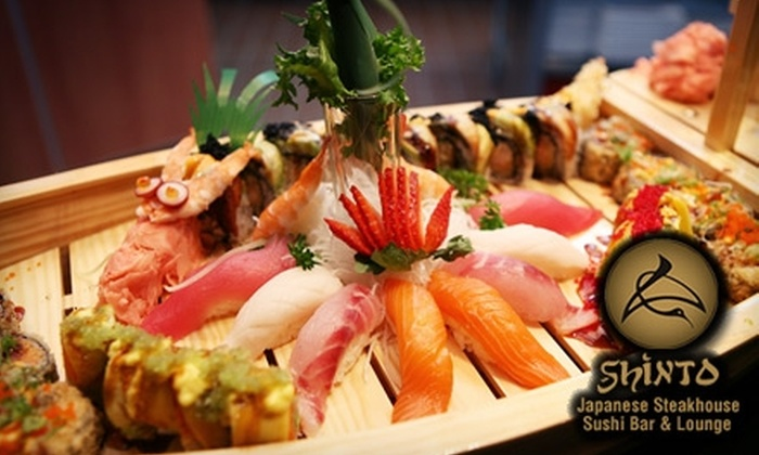 Shinto Japanese Steak House and Sushi Bar - Naperville: $25 for $50 Worth of Japanese Fare and Drinks at Shinto Japanese Steakhouse & Sushi Bar in Naperville