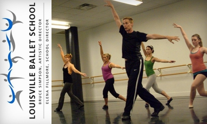 The Louisville Ballet - Multiple Locations: $49 for 11 Adult Dance and Fitness Classes of Your Choice at The Louisville Ballet School ($140 Value)