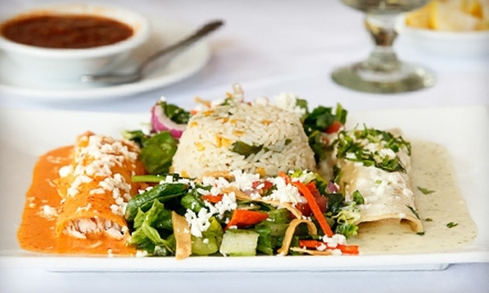 Paloma Blanca Mexican Cuisine - Alamo Heights: $10 for $20 Worth of Authentic Mexican Fare at Paloma Blanca Mexican Cuisine