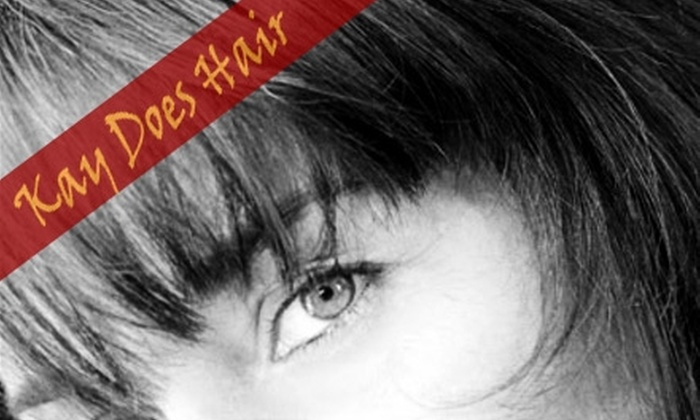 Kay Does Hair - Multiple Locations: $40 for a Women's Haircut from Kay Does Hair ($90 Value)