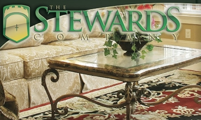 The Stewards Company - Downtown Tulsa: $59 for a Carpet Cleaning in Four Rooms from The Stewards Company ($118 Value)