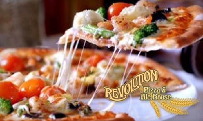 Revolution Pizza & Ale House - North Charlotte: $10 for $20 Worth of Pizza, Pasta, and More (Free Gelato if Used Sunday-Thursday) at Revolution Pizza & Ale House