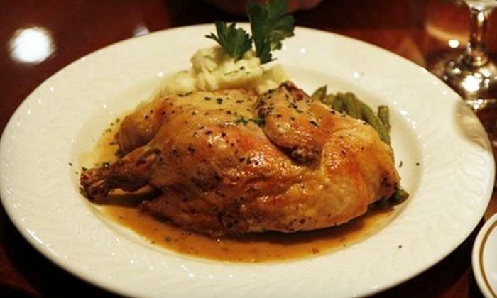 Bistro Café 72 - Brooklyn: $15 for $30 Worth of French Fare and Drinks at Bistro Café 72