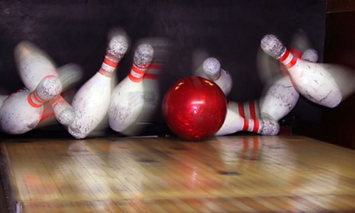 World Bowling Center - Convention Center: Bowling Package for Up to Four People at World Bowling Center
