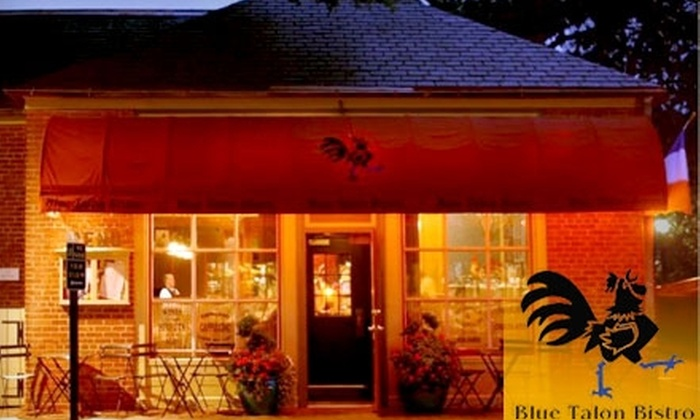 Blue Talon Bistro - Williamsburg: $25 for $50 Worth of Elegant Comfort Cuisine and Drinks at Blue Talon Bistro in Williamsburg