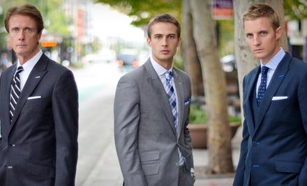 Custom Suit Package (a $1790 value) - Beckett & Robb in Salt Lake City