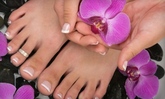 Elite Nails & Spa - Kailua: $20 for a Spa Mani-Pedi ($40 Value) or $30 for a Pink-and-White French Manicure ($60 Value) at Elite Nails & Spa