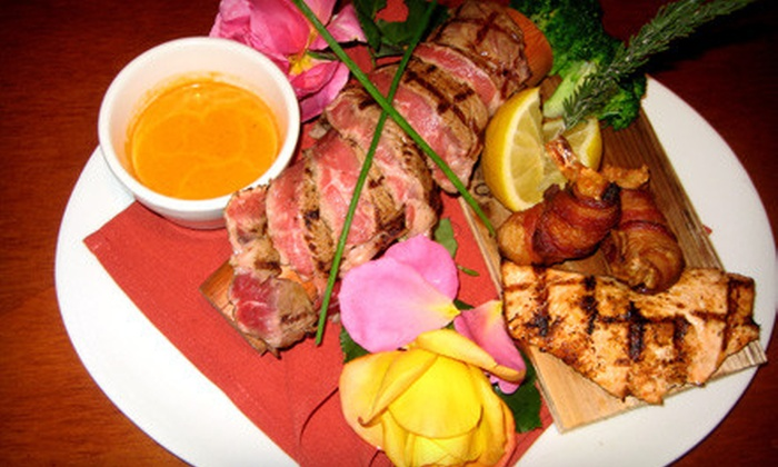 Las Aves Cafe - Oak Park: $20 for $40 American-and-Mexican Fusion Cuisine at Las Aves Cafe