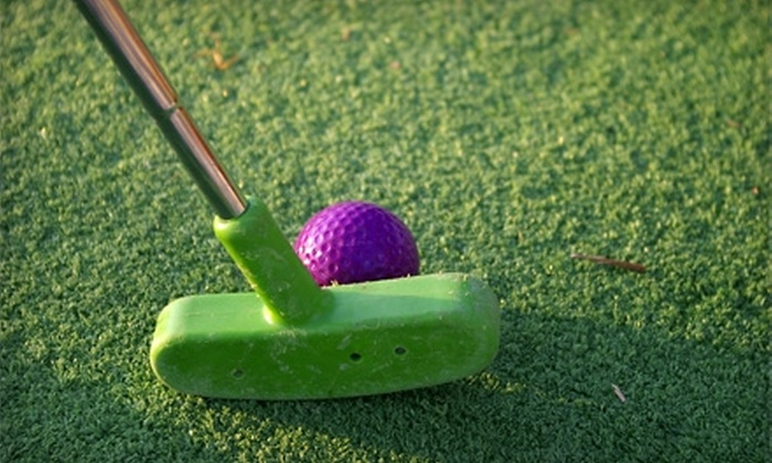 Hacker's Golf and Games - Niles: $20 for $40 Worth of Mini Golf, Driving Range, Go-Karts, and Batting Cages at Hacker's Golf and Games in Niles, MI