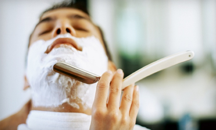 American Male Salon - Multiple Locations: Executive Shave, Man-zilian Wax, or Vitamin C Facial at American Male Salon