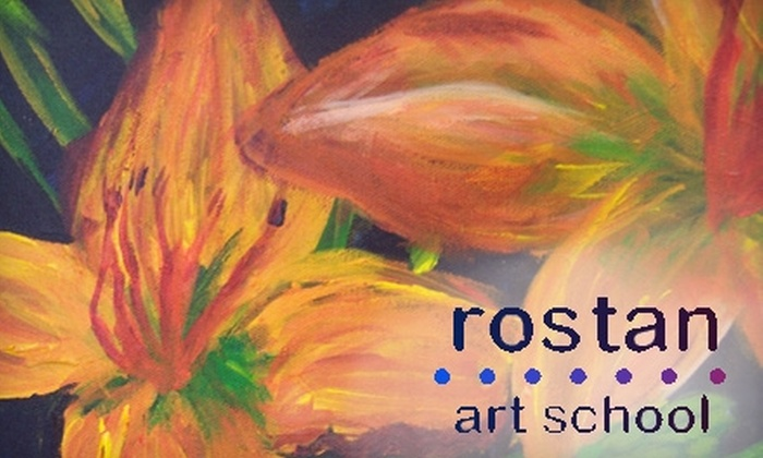 Rostan Art School - Woodbury: Half Off Art Classes for Kids and Adults at Rostan Art School in Woodbury. Choose from Three Options.