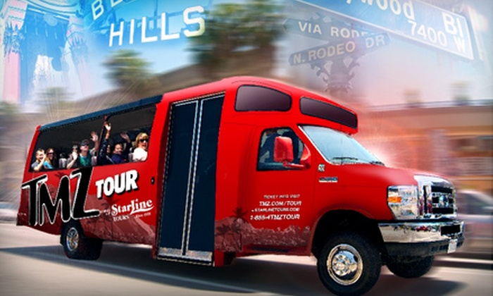 TMZ Hollywood Tour – Starline Tours - Hollywood: $31 for One Adult Ticket to TMZ Hollywood Tour ($63 Value)