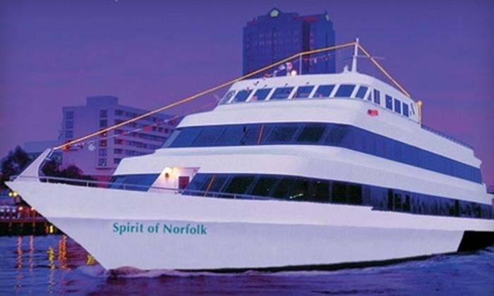 Spirit of Norfolk - Norfolk: $40 for a Dinner Cruise from Spirit of Norfolk (Up to $79.67 Value)