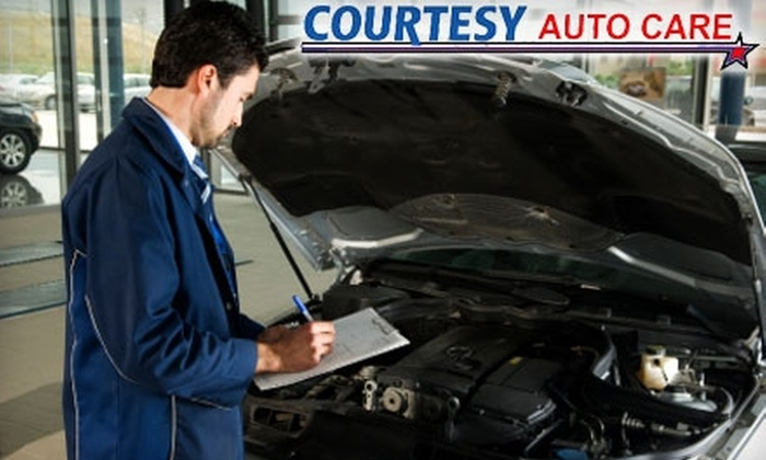 Courtesy Auto Care - Sedalia: $35 for Winterization, NitroFill Tire Inflation & a Year of Roadside Assistance from Courtesy Auto Care in Highlands Ranch ($199 Value)