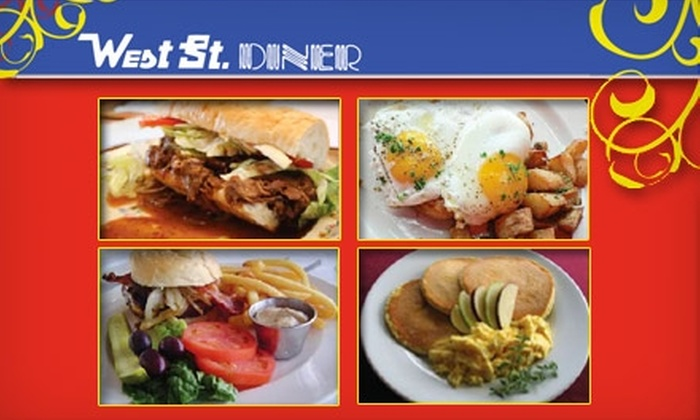 West St. Diner - Germantown P D: $5 for $10 Worth of Home-Style Cooking at West St. Diner