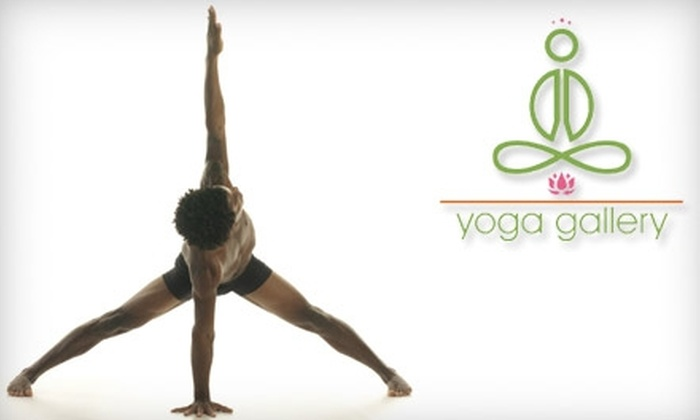 Yoga Gallery - Downtown Winston-Salem: $40 for 30 Days of Unlimited Yoga at Yoga Gallery ($110 Value)