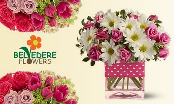 Belvedere Flowers - Haverford: $25 for $50 Worth of Fresh, Fragrant Flowers and More at Belvedere Flowers