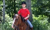 Cornerstone Ranch - Princeton: $35 for a Guided Trail Ride at Cornerstone Ranch in Princeton ($70 Value) or $350 for a Weeklong Riding Camp ($700 Value)