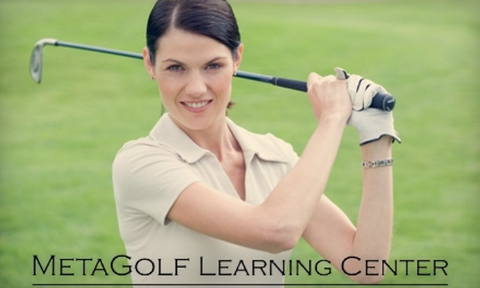 MetaGolf Learning Center - Sheridan: $75 for Golf Services at MetaGolf Learning Center in Englewood ($150 Value)