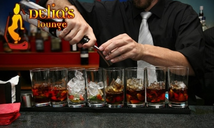 Delia's Lounge - Bay Ridge & Fort Hamilton: $20 for $40 Worth of Cocktails and Small Plates at Delia's Lounge