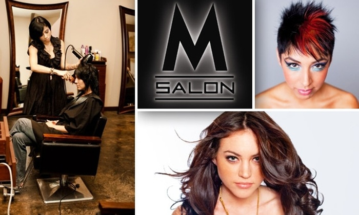 M Salon - Greenway/ Upper Kirby: $50 for $100 Worth of Services at M Salon
