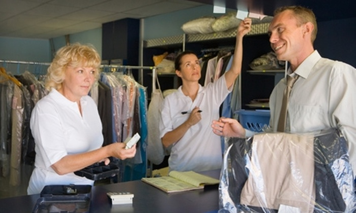 Shelton Family Cleaners - Old - Multiple Locations: $10 for $25 Worth of Dry-Cleaning and Laundry Services at Shelton Family Cleaners