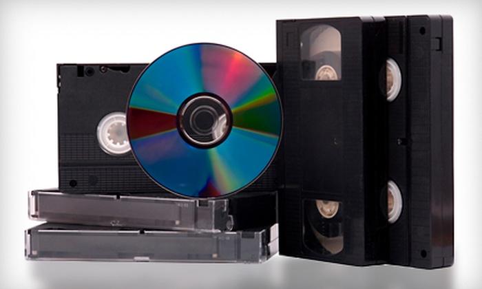 Denevi Digital Imaging - Cherryland: $23 for Three VHS-to-DVD Transfers and Arcsoft Editing Software at Denevi Digital Imaging in Hayward ($59.85 Value)
