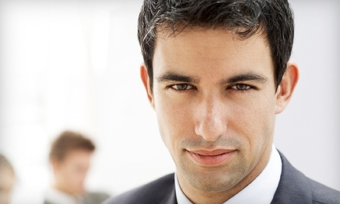The Men's Grooming Parlor - Edgewater: $20 for an Executive Wax at The Men's Grooming Parlor ($40 Value)