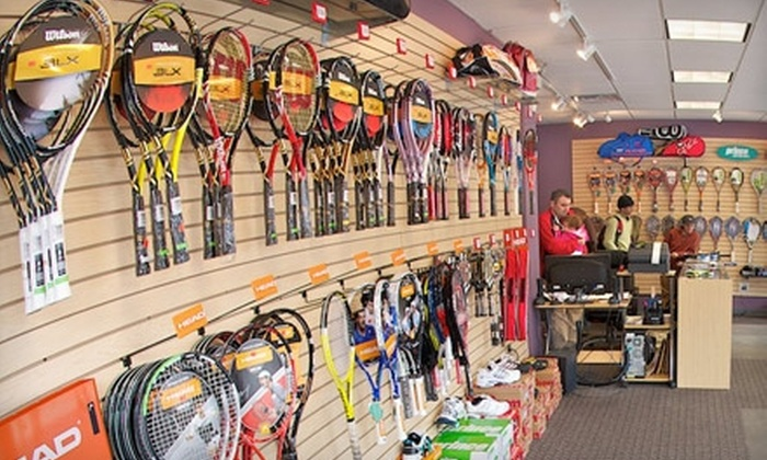Strings Attached - Chicago: $15 for $30 Worth of Tennis Gear and Services at Strings Attached