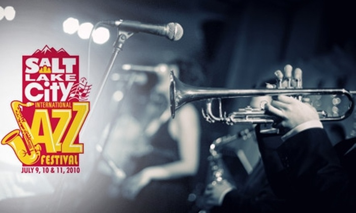 Salt Lake City Jazz Festival - Central City: $8 for a Single-Day Admission to Salt Lake City Jazz Festival on July 9, 10, or 11