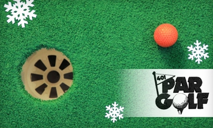 401 Par Golf Inc. - St. Marys: $8 for Two Tickets to Santa's Hayride Plus a Round of Miniature Golf on a Christmas Course at 401 Par Golf Inc.