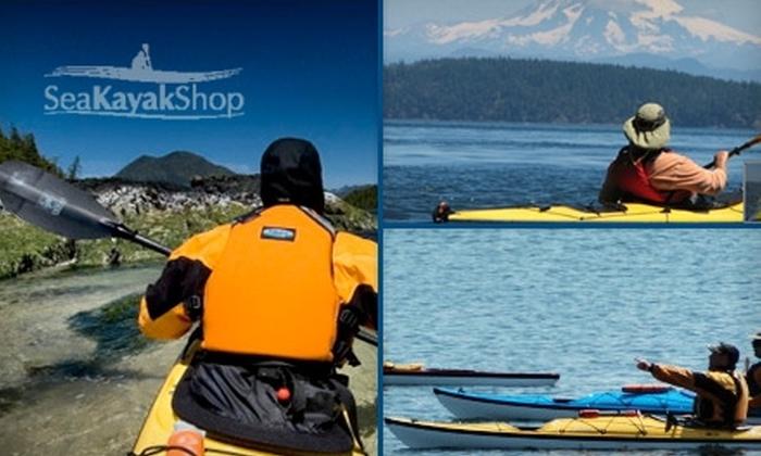 Sea Kayak Shop LLC. - Anacortes: $25 for a Three-Hour Anacortes and San Juan Islands Tandem Kayak Tour from Sea Kayak Shop ($49 Value)