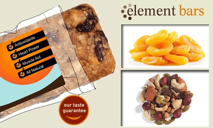 Element Bars - Pittsburgh: $10 for $25 Worth of Custom Energy Bars from Element Bars, Inc.