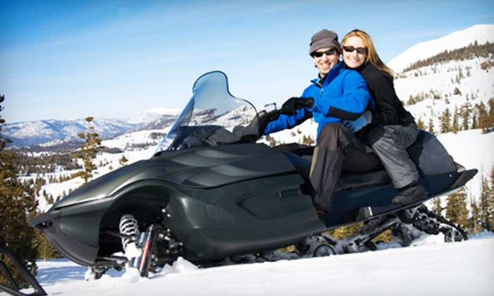 Town and Country Inn and Northeast Snowmobile - Shelburne: Winter Excursion at Town and Country Inn and Northeast Snowmobile in Gorham (Up to Half Off). Two Options Available.
