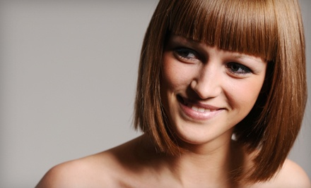 Haircut and Style ($60 value) - The Green Room Organic Hair Lounge in Scottsdale