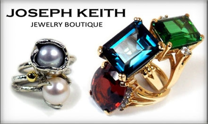 Joseph Keith Jewelry Boutique - University Place: $50 for $100 Worth of Handcrafted Jewelry at Joseph Keith Jewelry Boutique