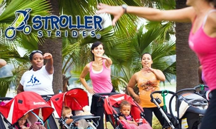 Stroller Strides - Multiple Locations: $18 for Five Classes at Stroller Strides ($60 Value)