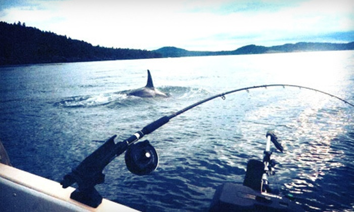 Gotcha Salmon Charters - Victoria: Four-Hour Salmon-Fishing Charter from Gotcha Salmon Charters (Up to 55% Off). Two Options Available.