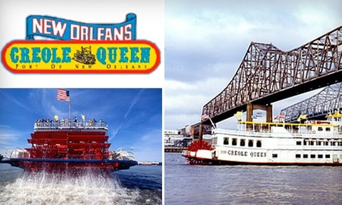 New Orleans Paddlewheels - Lower Garden District: $40 for Two Adult Jazz Cruise Tickets at New Orleans Paddlewheels ($80 Value)