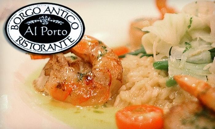 Al Porto Ristorante - Downtown Vancouver: $20 for $40 Worth of Italian Fare at Al Porto Ristorante
