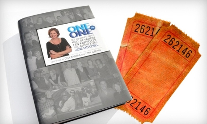 "San Diego Hall of Champions - Balboa Park: $19 for an Autographed Copy of ""One on One"" by Jane Mitchell, Plus Two Tickets to the San Diego Hall of Champions ($40.95 Value)"