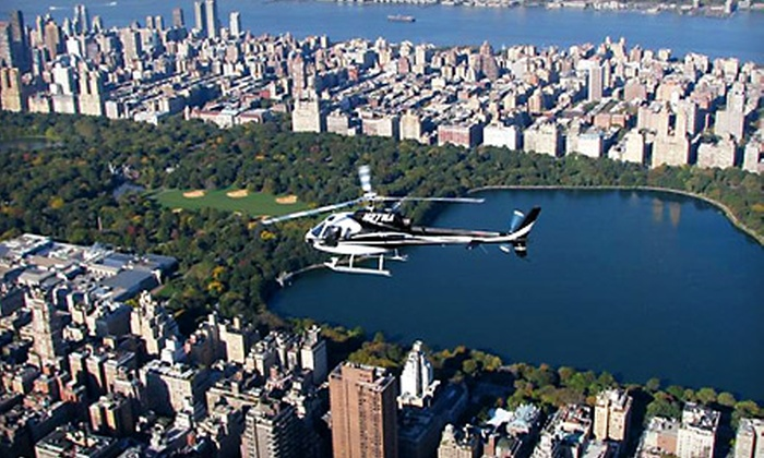 Manhattan Helicopters - Financial District: Deluxe Helicopter Tour over Manhattan for One or Two from Manhattan Helicopters