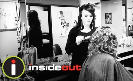 $65 Groupon to Inside Out Hair Salon - Inside Out Hair Salon in St. Charles