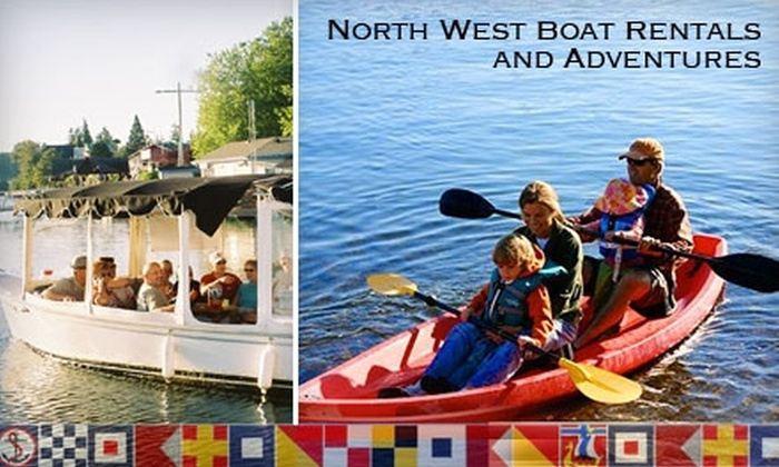 Northwest Boat Rentals - Poulsbo: Boat Adventure from Northwest Boat Rentals in Poulsbo. Choose from Two Options.