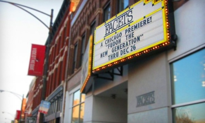 Facets Multi-Media - DePaul: $35 for a Three-Month Patron Circle Membership to Facets Multi-Media ($70 Value)
