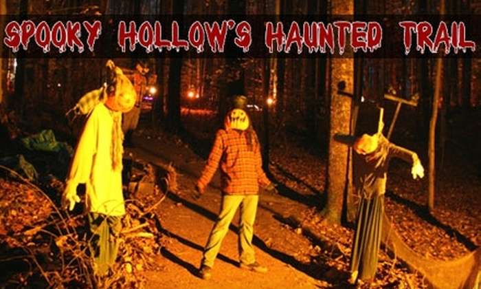 Spooky Hollow's Haunted Trail and Hayride - Darnestown: $10 for One Admission to Spooky Hollow's Haunted Trail and Hayride ($20 Value)