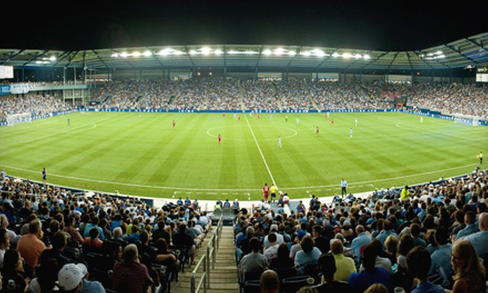 Sporting Kansas City at LIVESTRONG Sporting Park - Muncie - Stony Pt.: Ticket to Sporting Kansas City Soccer Game, Hot Dog, and Soft Drink. Choose From Four Games.