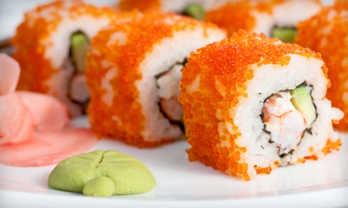 Shogun Japanese Steak Seafood & Sushi - Cordova: $10 for $20 Worth of Sushi at Shogun Japanese Steak Seafood & Sushi in Cordova