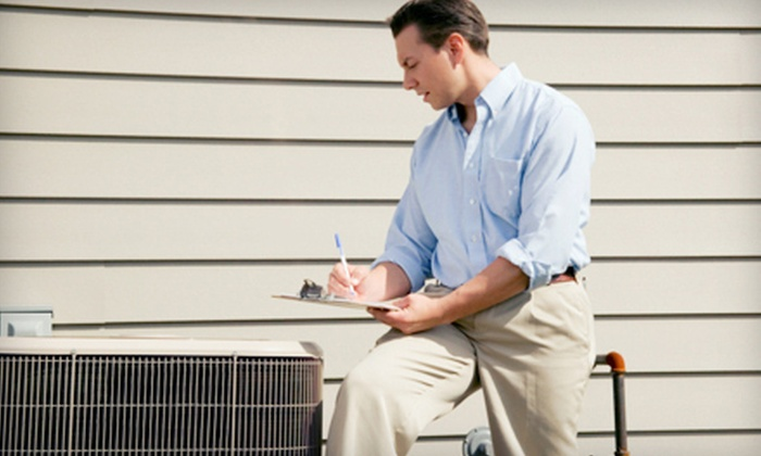 Pipe Wrench Plumbing, Heating & Cooling - 8: $39 for a Furnace or Air-Conditioner Tune-Up Package from Pipe Wrench Plumbing, Heating & Cooling ($129 Value)