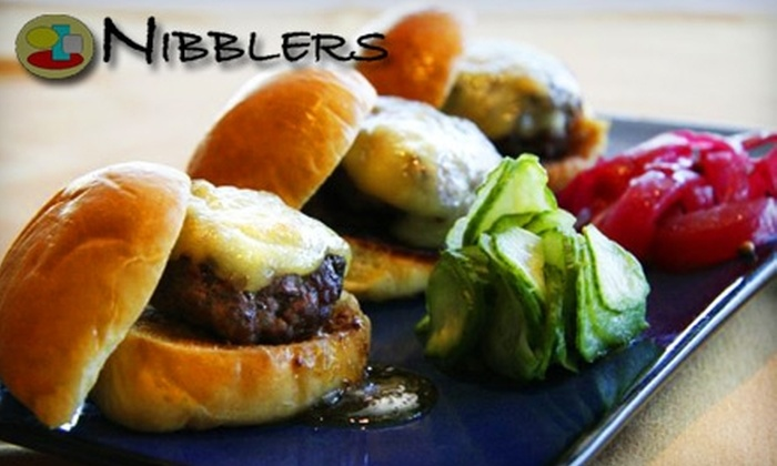 Nibblers Eatery & Wine Bar - Pleasant Hill: $20 for $40 Worth of International Small Plates and Wine at Nibblers Eatery & Wine Bar in Pleasant Hill
